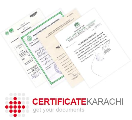 CertificateKarachi